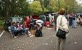 Krajowa Wystawa Psów Rasowych Rybnik 2006 przed bramą.jpg