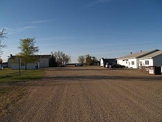 Kramer, North Dakota - Street in Kramer