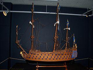 Modell der Kronan