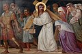 Kruisweg Sint-Pancratiuskerk, Heerlen, statie 08 Jezus troost de huilende vrouwen.jpg