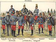 KuK Kavallerie 1898
