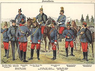 Common Army - Imperial and Royal Cavalry around 1900
