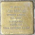 Kun Imréné stolperstein Bp02 Buday László2.jpg
