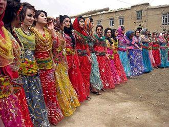Kurdish clothing - Kurdish women's traditional clothing
