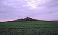 Kurgan Three peaks hill in Kanjiza, Vojvodina (panorama).jpg