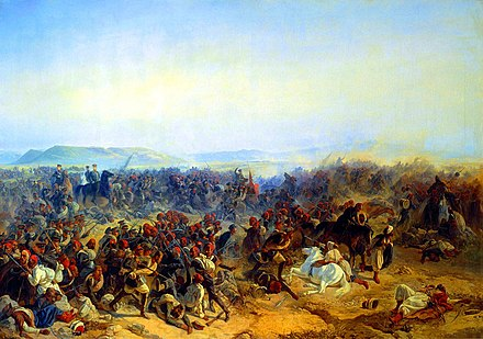 General Bebutashvili defeated the Turks at the Battle of Kurekdere Kuruk-Dara1.jpg