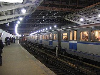 Kutuzovskaya (Filyovskaya line) - Image: Kutuzovskaya subway 1
