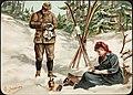 Kvinne og mann på skitur, ca 1894.jpg