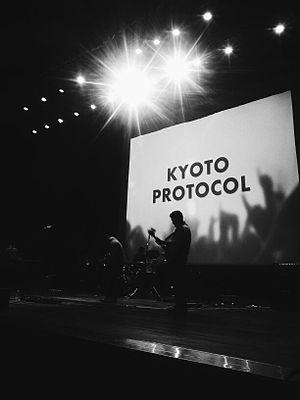 Kyoto Protocol (band) - Kyoto Protocol performing at Multimedia University (Cyberjaya) in 2014