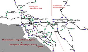 Southern California freeways  Wikipedia