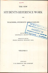 The New Student's Reference Work