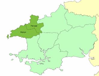 Dewisland - The cantref of Pebidiog in ancient Dyfed