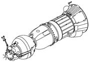 Soyuz 7K-L3 (LOK) drawing