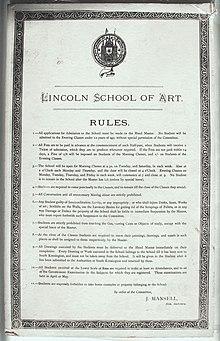 Lincoln College Of Art Wikipedia