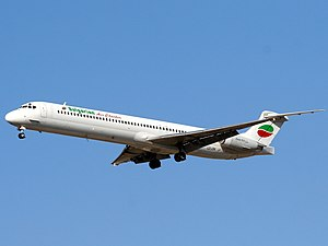Bulgarian Air Charter - Bulgarian Air Charter McDonnell Douglas MD-82