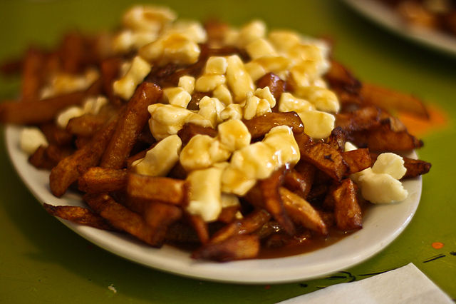 Poutine in Montreal. Photo by Yuri Long.