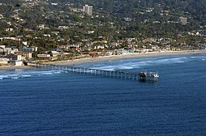 La Jolla Shores - La Jolla Shores and the Scripps Pier