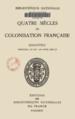 La Roncière, Quatre siècles de colonisation française Titre.png
