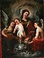 La Virgen con el Niño, de un seguidor de Claudio Coello (Museo de Huesca).jpg