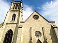 La façade et le clocher de la cathédrale d'Agen.jpg
