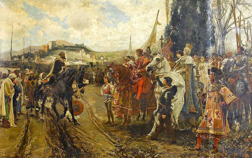 vida y muerte de Isabel I de Castilla 1024px-La_rendición_de_Granada