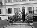 Laatste dag staatsbezoek Franse president Coty aan Nederland. Bezoek Soestdijk, , Bestanddeelnr 906-6208.jpg