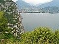 Lago di Garda, Gardasee, View to Riva del Garda - panoramio.jpg