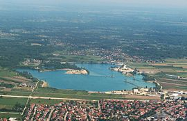 Lake Čiče from the air.jpg