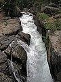 Lake Creek Falls (Clarks Fork Valley, Beartooth Mountains, Wyoming, USA) 3 (19220728134).jpg