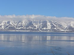 Lake Sevan. View from Yerevan-Tbilisi highway.jpg