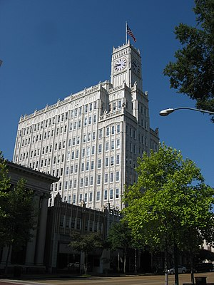 Lamar Life Building - Image: Lamar Life Building, Jackson, MS