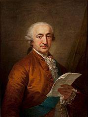 Portrait of Stanisław Małachowski.