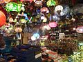 Lamps for sale in Grand Bazaar in Istanbul.JPG