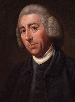 Lancelot ('Capability') Brown by Nathaniel Dance, (later Sir Nathaniel Dance-Holland, Bt) cropped