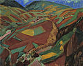 Land Cultivated to the Top by Fujishima Takeji (Menard Art Museum).jpg