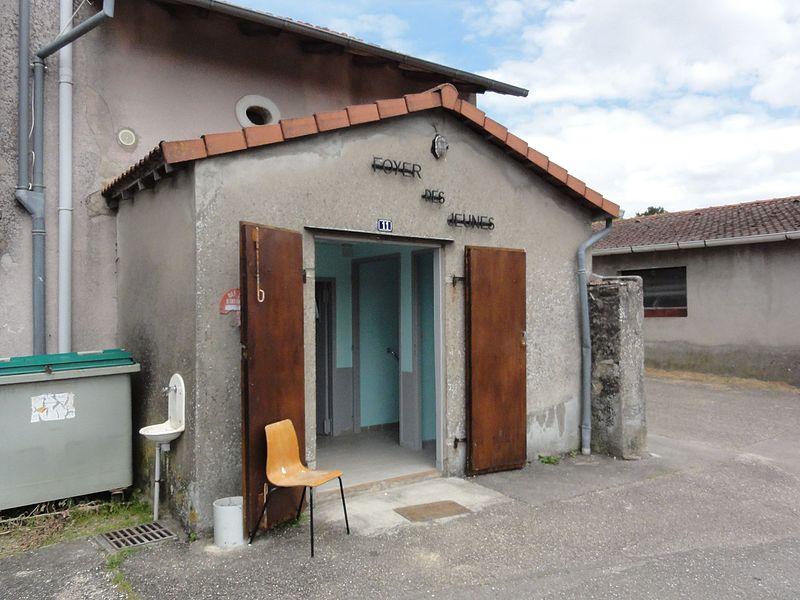 Laneuveville-devant-Bayon (M-et-M) foyer rural des jeunes