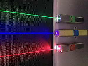 Laser safety - Laser pointers