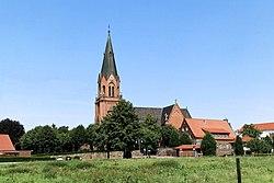Lathen - Burgstraße + Kirchengarten + St. Vitus 02 ies.jpg