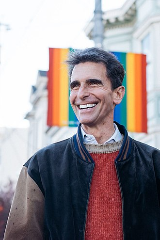 Mark Leno - Image: Laughing Leno