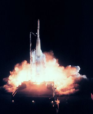 TIROS-2 - The launch of TIROS-2