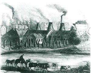 Siemianowice Śląskie - Laurahütte, 1840