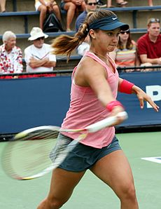 Lauren Davis at the 2013 US Open.jpg