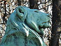 Le Lion de Nubie et sa proie by Auguste Cain, Paris 2012 02.jpg