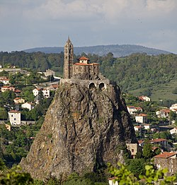 Le Puy-en-Velay, Église Saint-Laurent et Aiguilhe PM 48569.jpg