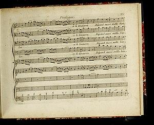 François Francoeur - Le Trophée, divertissement à l'occasion de la Victoire de Fontenoi... Représenté par l'Académie royale de musique le mardy 10 aoust 1745.... Les paroles sont de M. de Moncrif... (Musique imprimée) (14764350525)