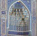 Le portail du Gour Emir (Samarcande, Ouzbékistan) (5635200466).jpg