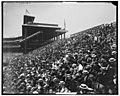 Left field bleachers at Forbes Field in Pittsburgh.jpg