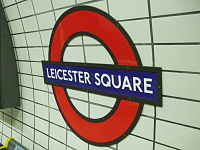 Leicester Square stn Northern roundel.JPG