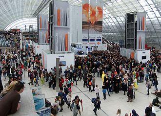 Leipzig Book Fair - The Leipzig Book Fair in 2015
