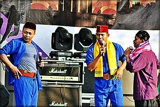 Lenong - Image: Lenong at Batavia Festival 2012